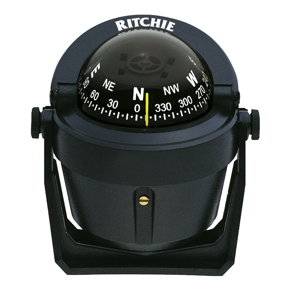 Ritchie B-51 Explorer Compass - Bracket Mount - Black