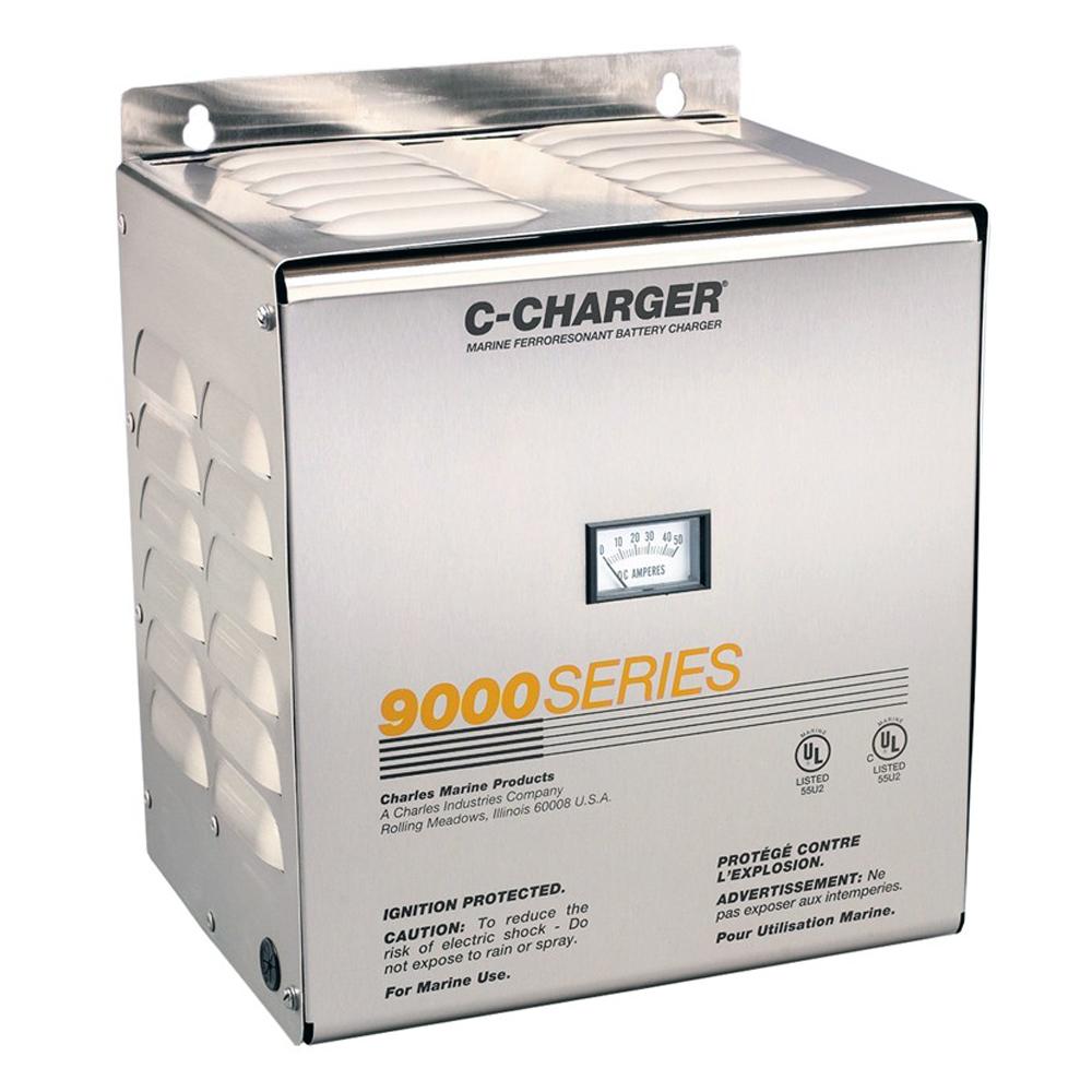 Charles 40 Amp, 24V, 120VAC 9000 Series Charger