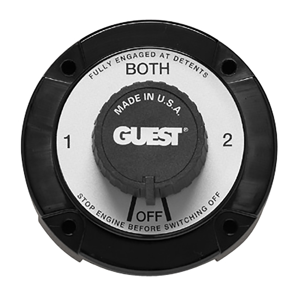 Guest 2111A Heavy Duty Battery Selector Switch