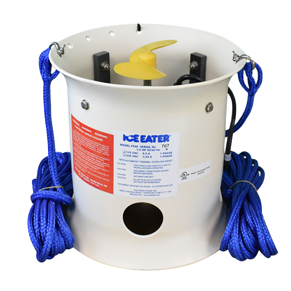 Ice Eater by The Power House 1/2HP Ice Eater w/25' Cord - 115V