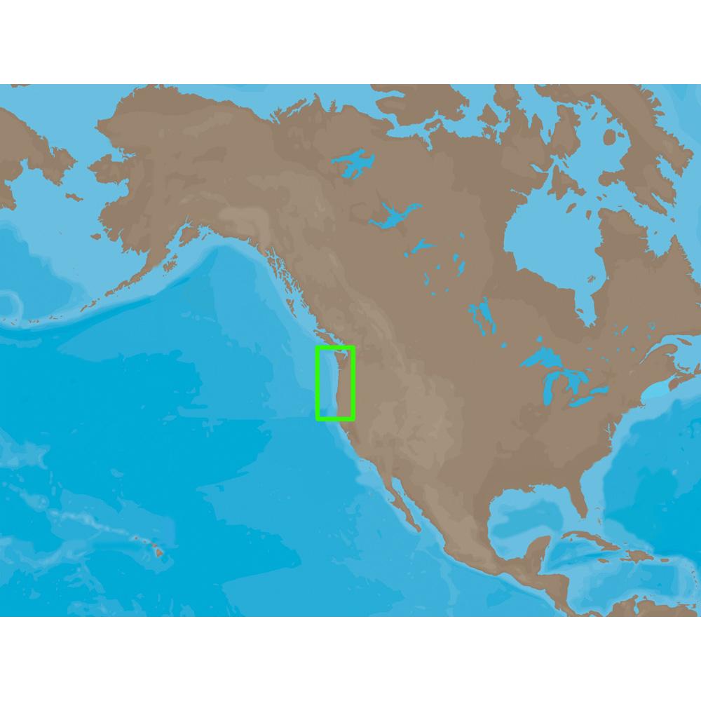 C-MAP NT+ NA-C606 - Coos Bay-Cape Flattery: Bathy - C-Card
