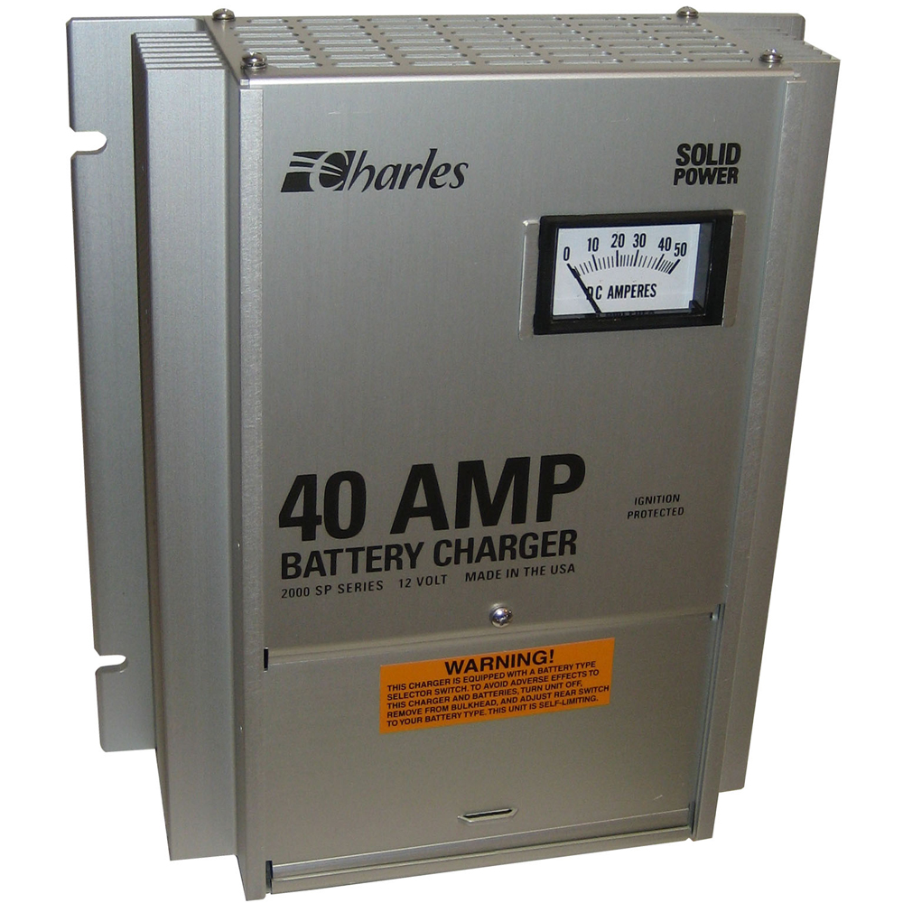 Charles 93-12402SP-A 2000 SP Series C-Charger - 40A/3 Bank