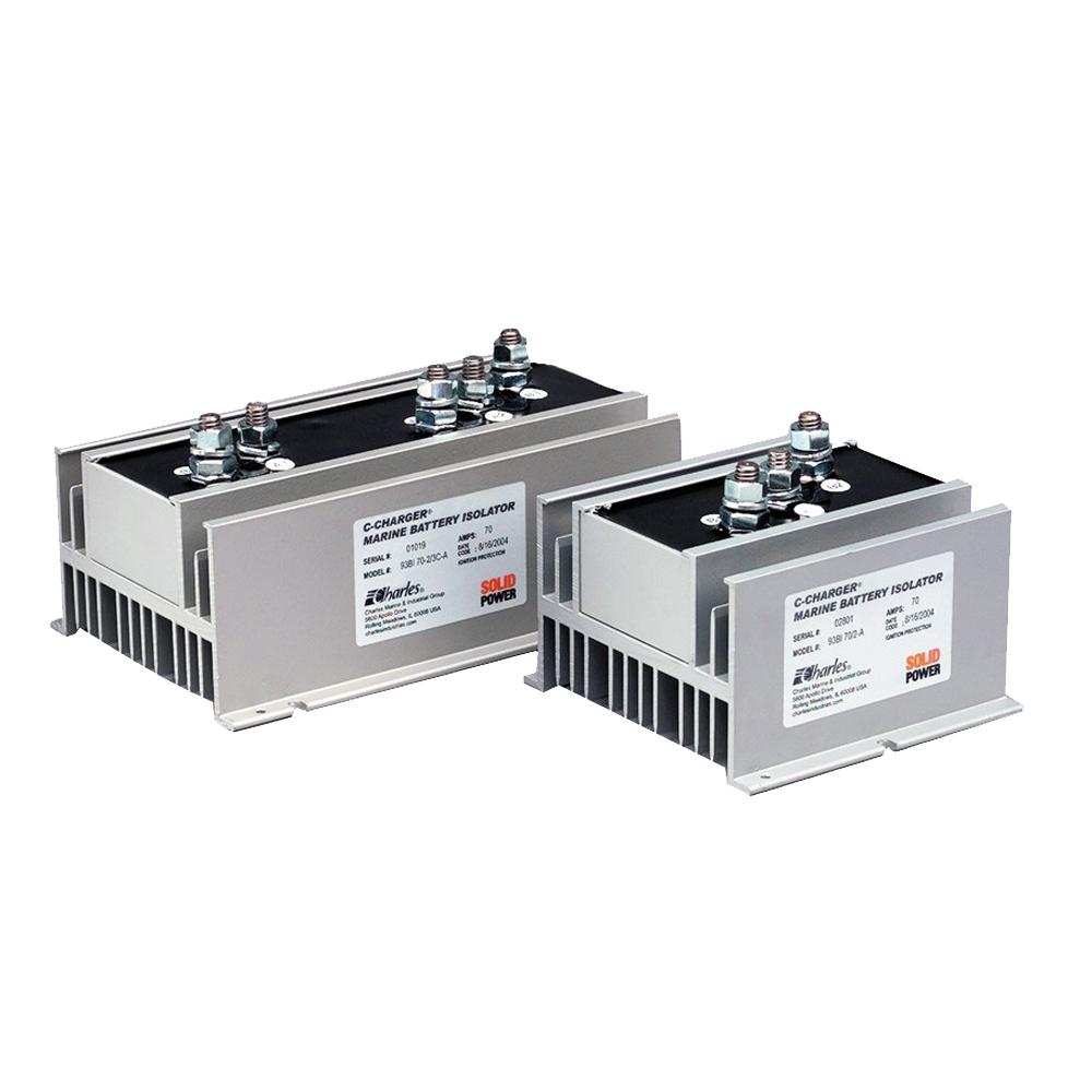 charles 70 amp battery isolator 2 alternator 3 bank. Black Bedroom Furniture Sets. Home Design Ideas