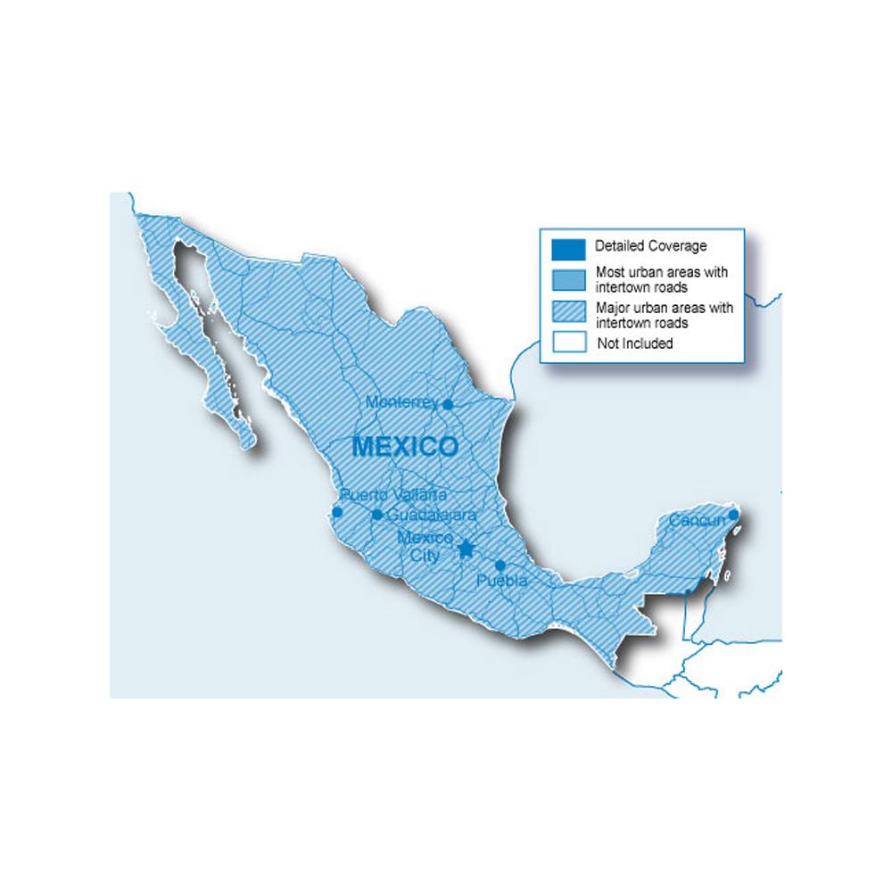 Garmin City Navigator® - Mexico NT - microSD™/SD™