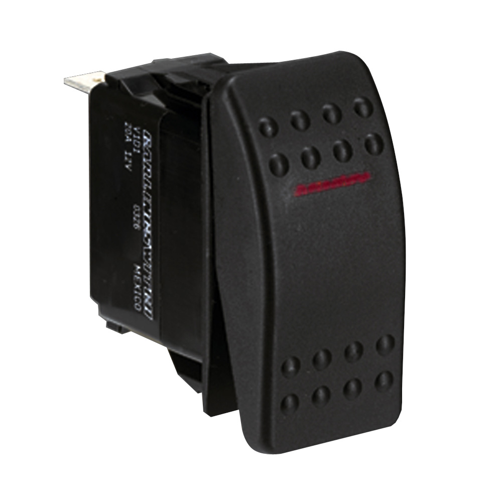 Paneltronics SPST ON/OFF Waterproof Contura Rocker Switch