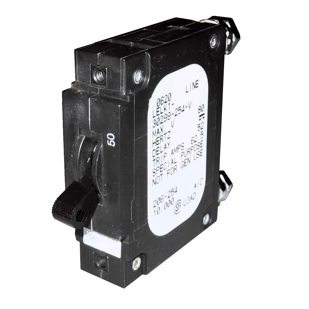 Paneltronics 39 c 39 frame magnetic circuit breaker ce 50 for 50 amp circuit breaker for trolling motor