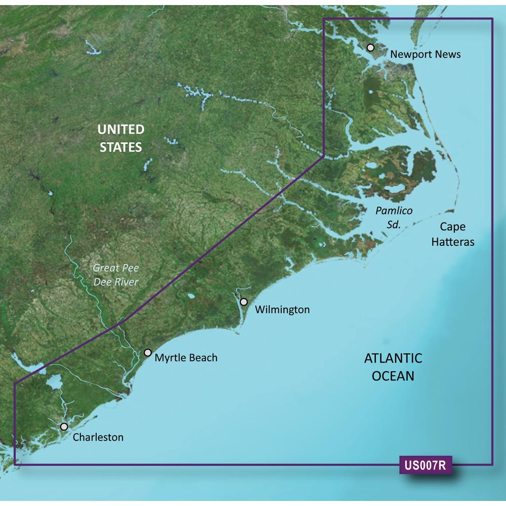 Garmin BlueChart® g2 Vision® - VUS007R - Norfolk - Charleston - microSD™/SD™