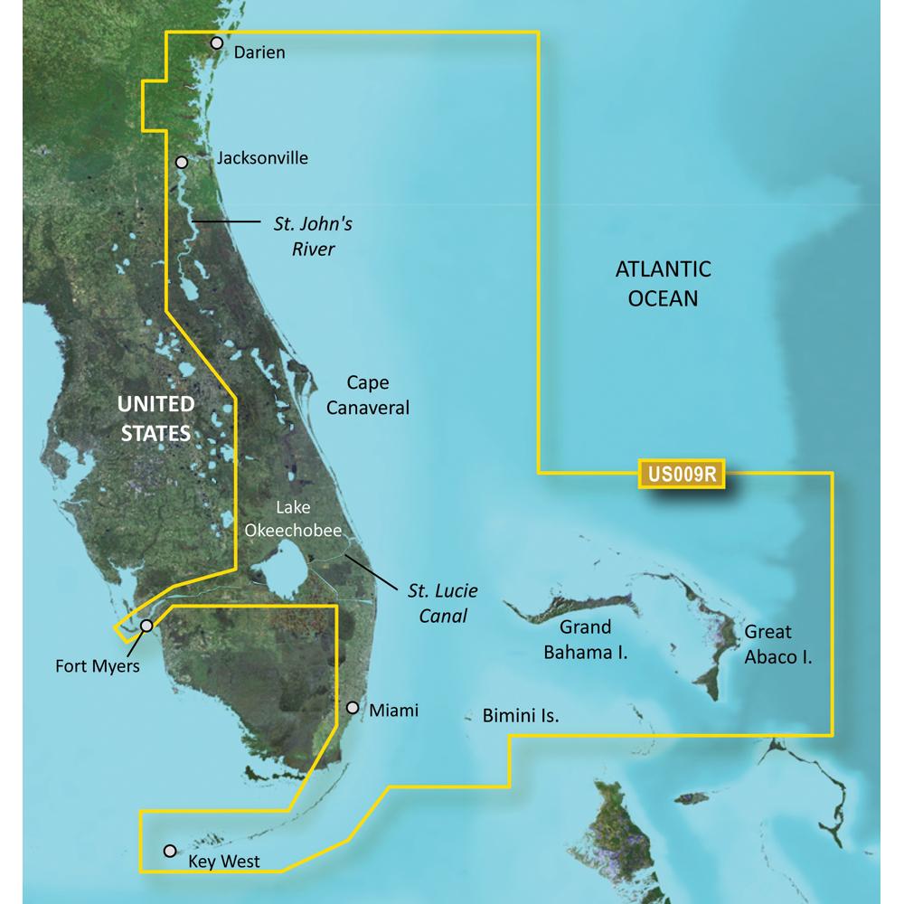 Garmin BlueChart® g2 Vision® - VUS009R - Jacksonville - Key West - microSD™/SD™