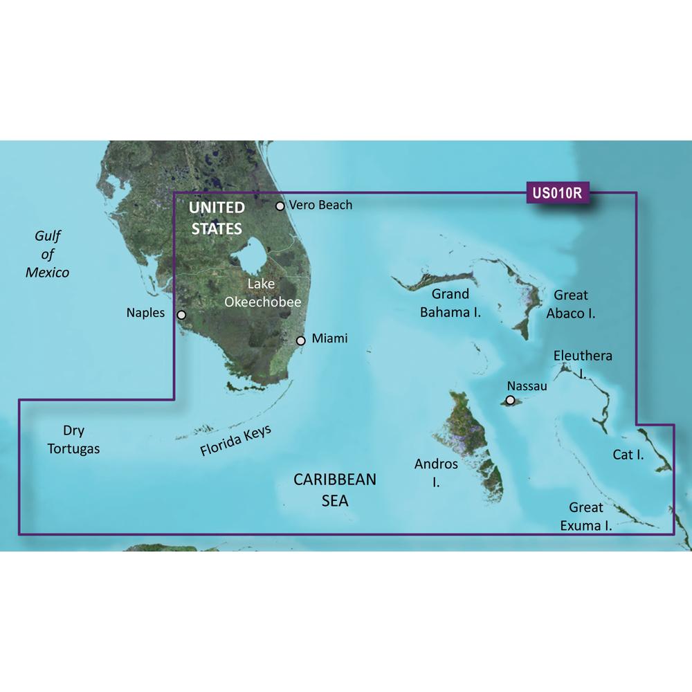 Garmin BlueChart® g2 Vision® - VUS010R - Southeast Florida - microSD™/SD™