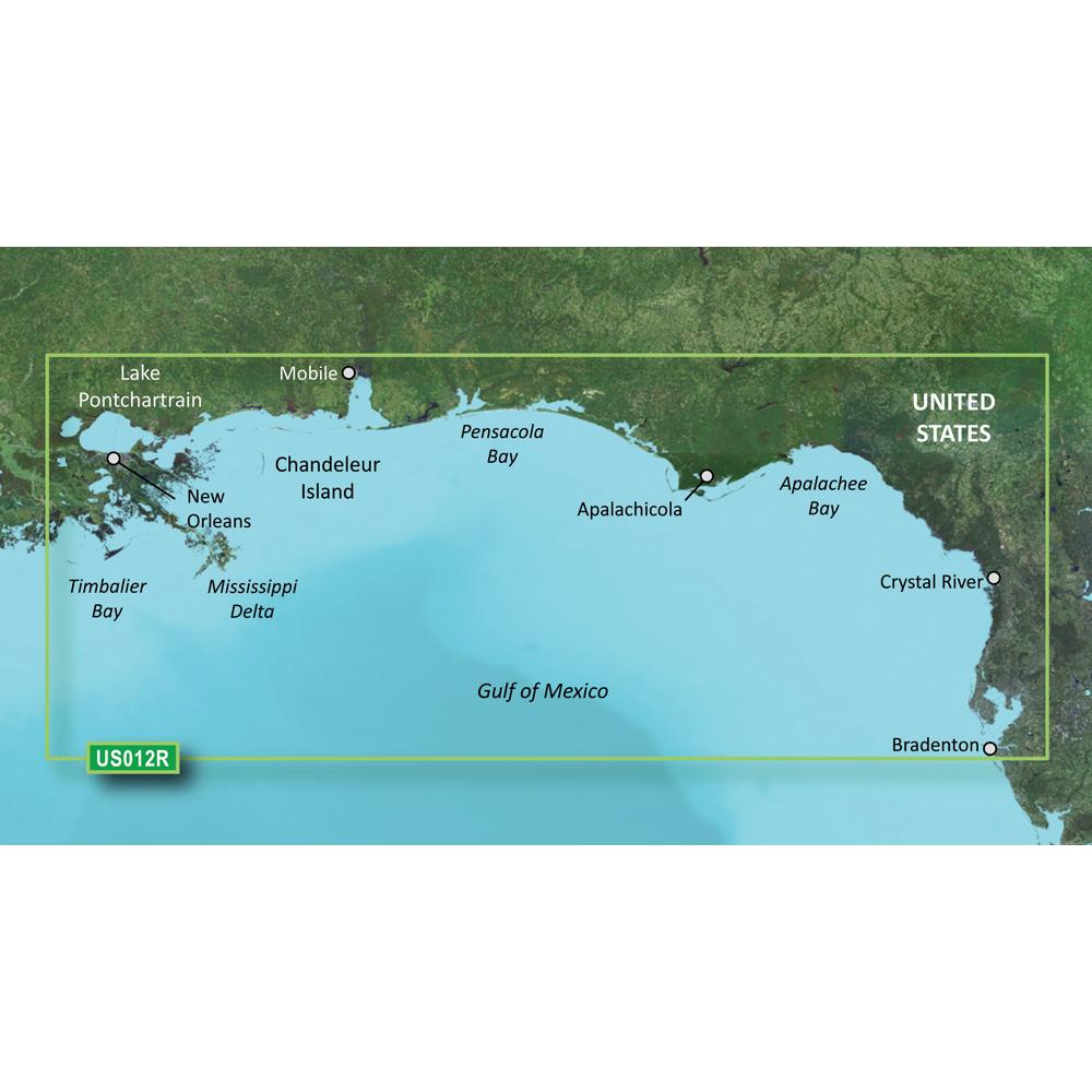 Garmin BlueChart® g2 Vision® - VUS012R - Tampa - New Orleans - microSD™/SD™
