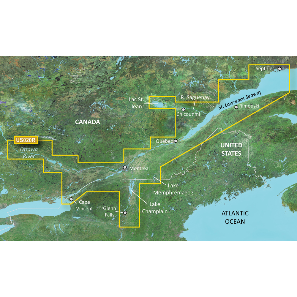 Garmin BlueChart® g2 Vision® - VUS020R - St. Lawrence Seaway - microSD™/SD™