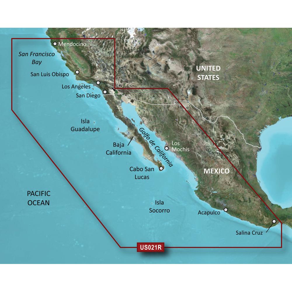 Garmin BlueChart® g2 Vision® - VUS021R - California-Mexico - microSD™/SD™