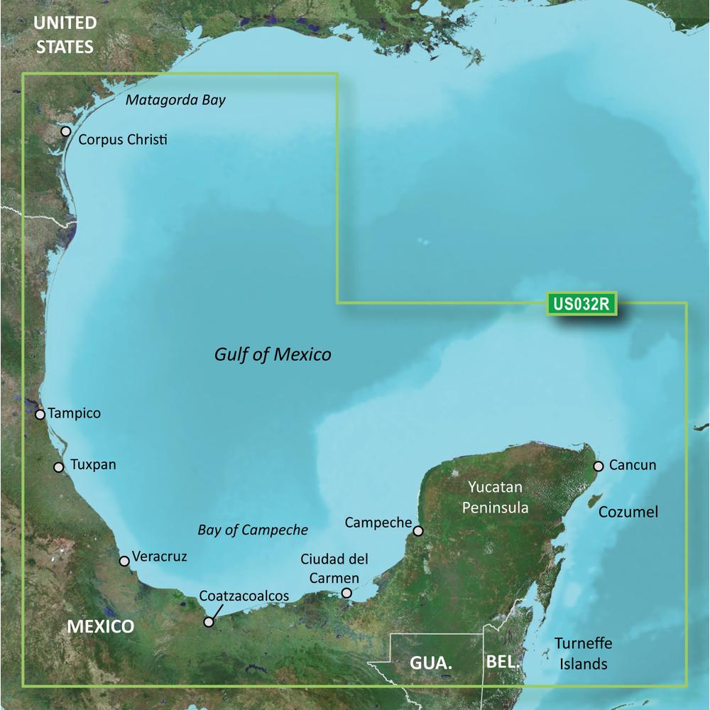 Garmin BlueChart® g2 Vision® - VUS032R - Southern Gulf of Mexico - microSD™/SD™