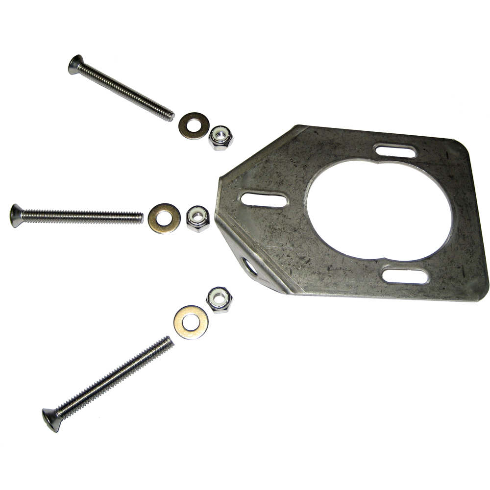 Lee's Stainless Steel Backing Plate f/30° Heavy Rod Holders