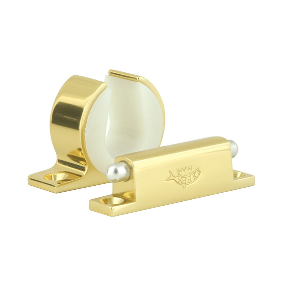 Lee's Rod and Reel Hanger Set - Penn International 16S - Bright Gold