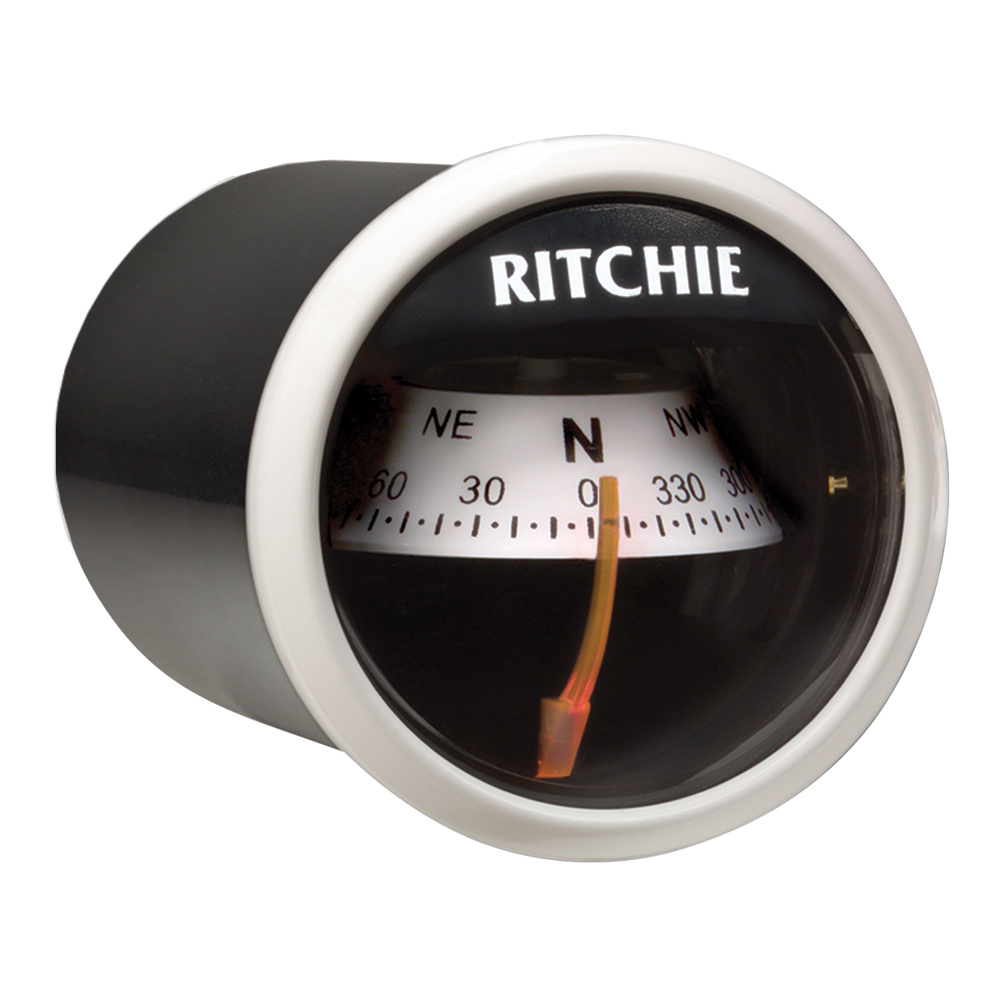 Ritchie X-21WW RitchieSport Compass - Dash Mount - White/Black