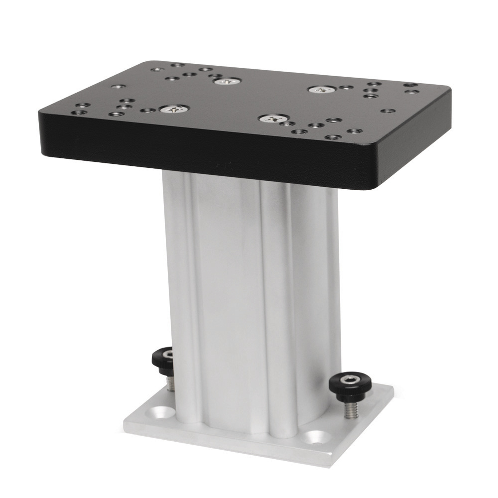 Cannon Aluminum Fixed Base Downrigger Pedestal - 6