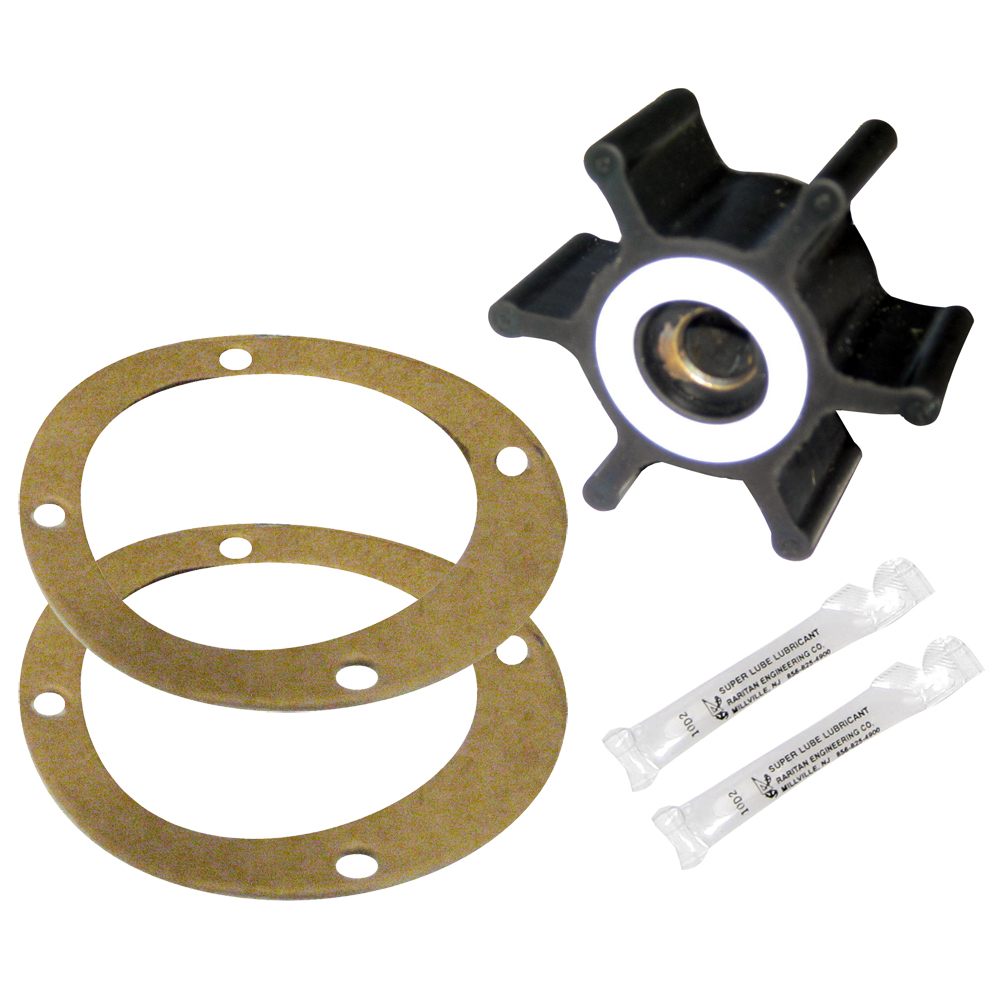 Raritan G13 Impeller w/Teflon Washers & Pump Gaskets