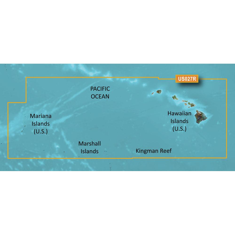 Garmin BlueChart® g2 HXUS027R - Hawaiian Islands - Mariana Islands - microSD™/SD™