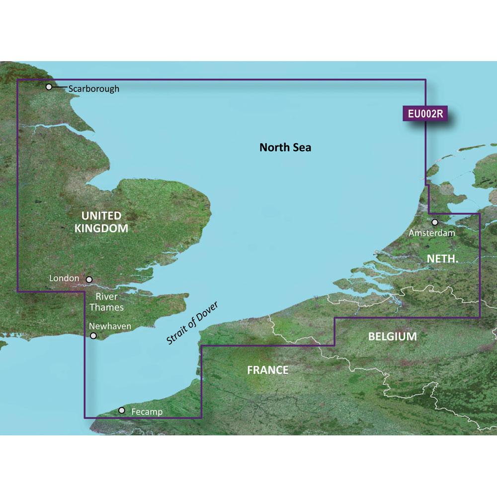Garmin BlueChart® g3 HD - HXEU002R - Dover to Amsterdam & England Southeast - microSD™/SD™