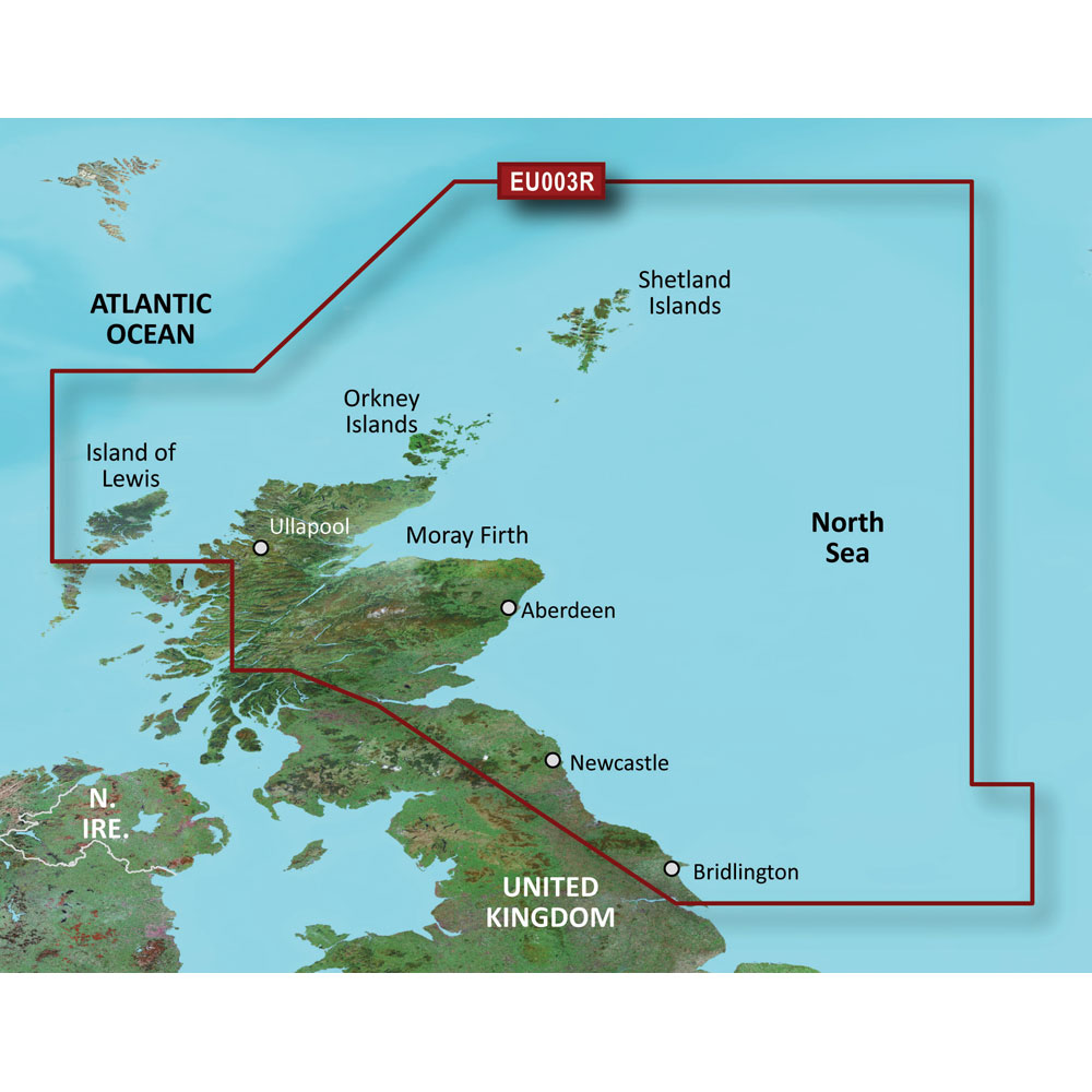 Garmin BlueChart® g3 HD - HXEU003R - Great Britain Northeast Coast - microSD™/SD™