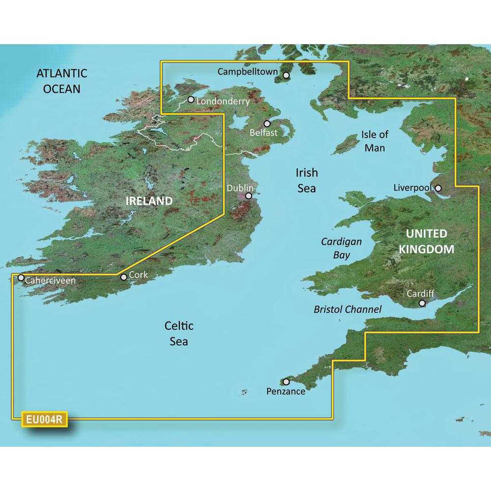 Garmin BlueChart® g3 HD - HXEU004R - Irish Sea - microSD™/SD™