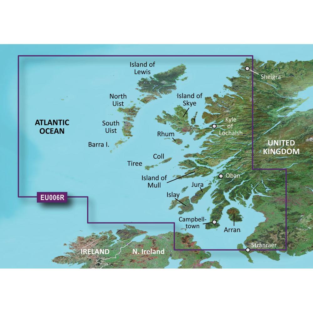 Garmin BlueChart® g3 HD - HXEU006R - Scotland West Coast - microSD™/SD™