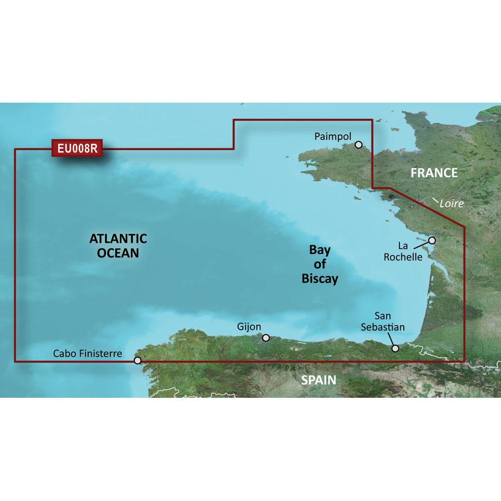 Garmin BlueChart® g3 HD - HXEU008R - Bay of Biscay - microSD™/SD™