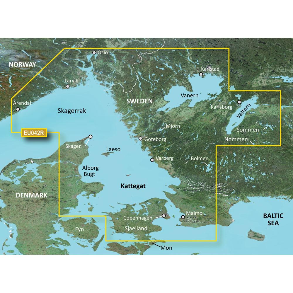 Garmin BlueChart® g3 HD - HXEU042R - Oslo to Trelleborg - microSD™/SD™