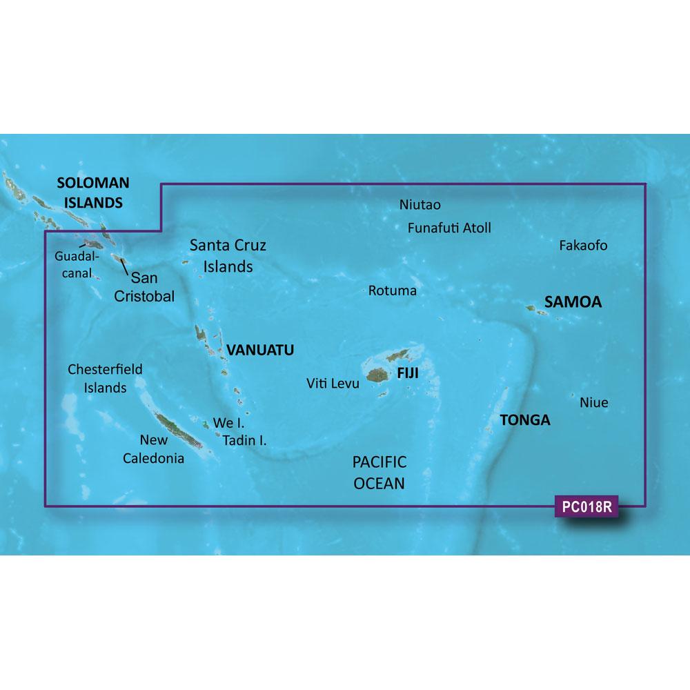 Garmin BlueChart® g2 HD - HXPC018R - New Caledonia To Fiji - microSD™/SD™