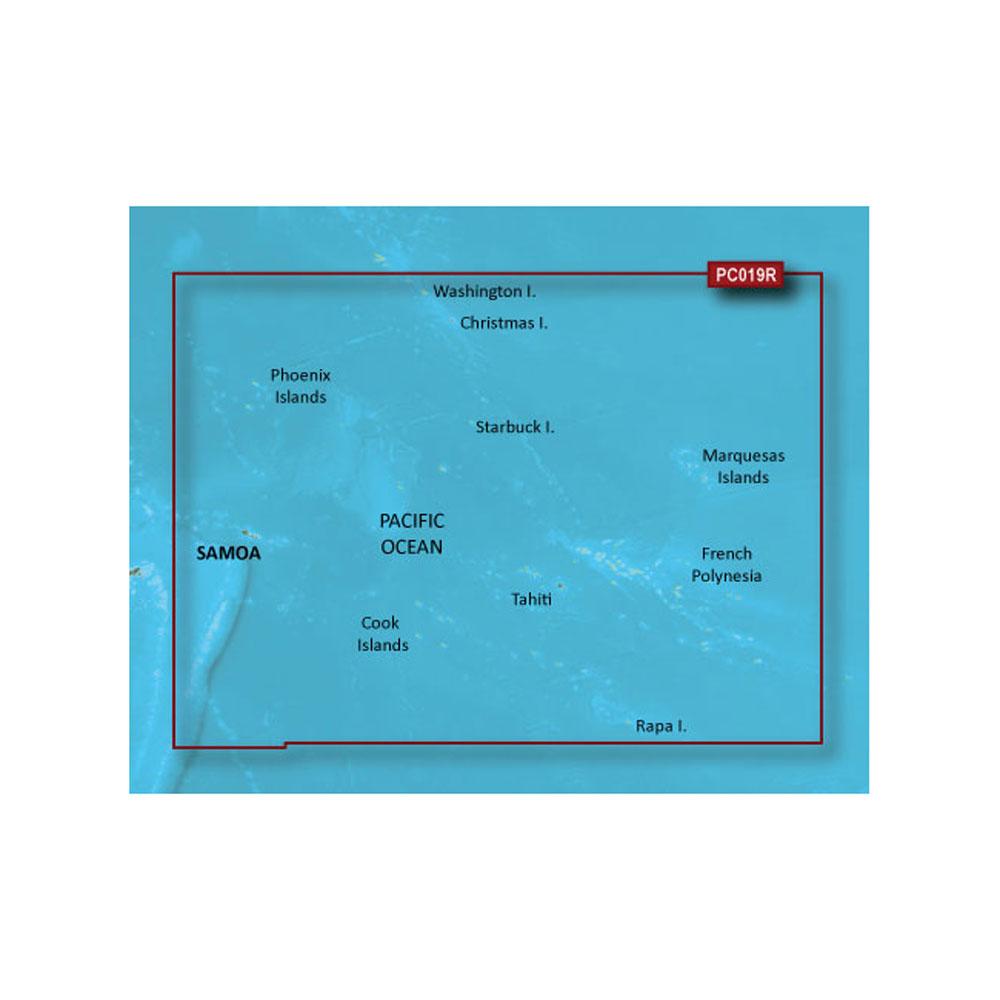 Garmin BlueChart® g2 HD - HXPC019R - Polynesia - microSD™/SD™