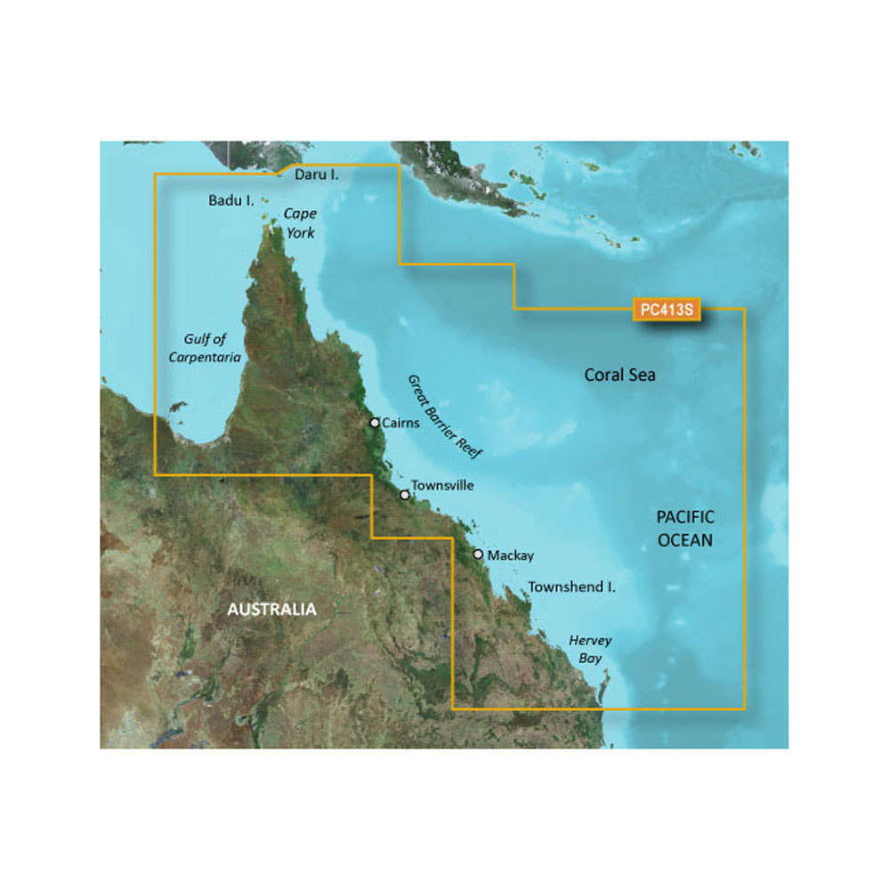 Garmin BlueChart® g2 - HXPC413S - Mornington Island - Hervey Bay - microSD™/SD™