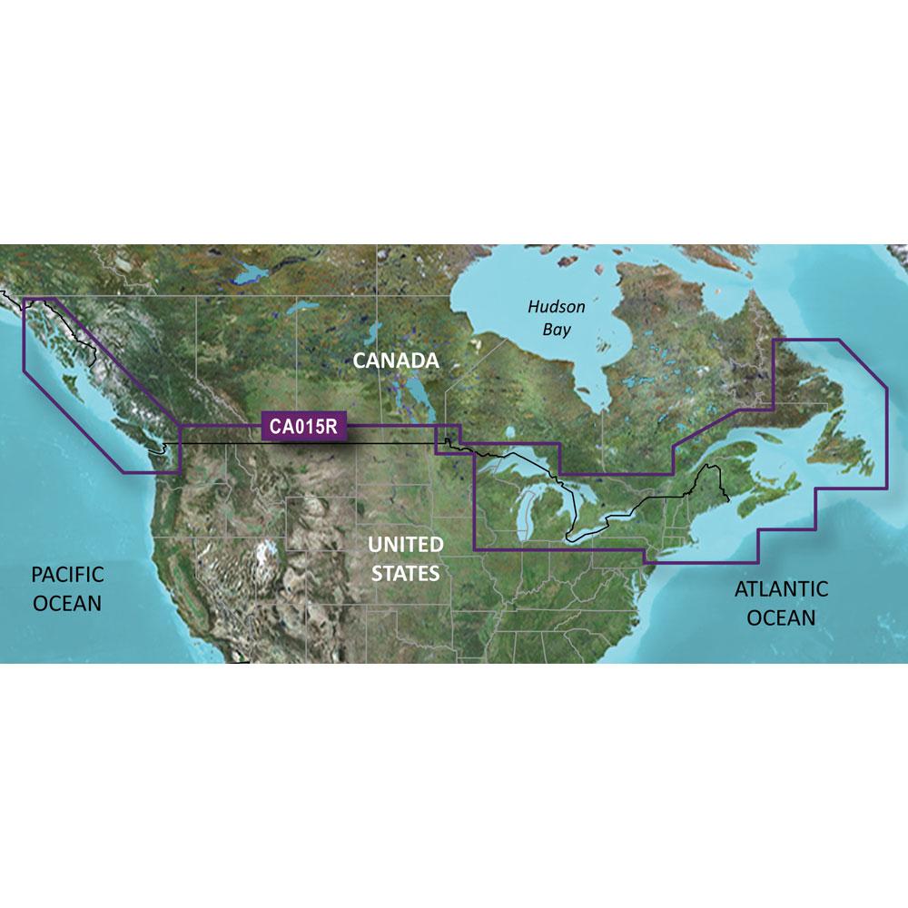 Garmin BlueChart® g3 HD - HXCA015R - Canada - microSD™/SD™