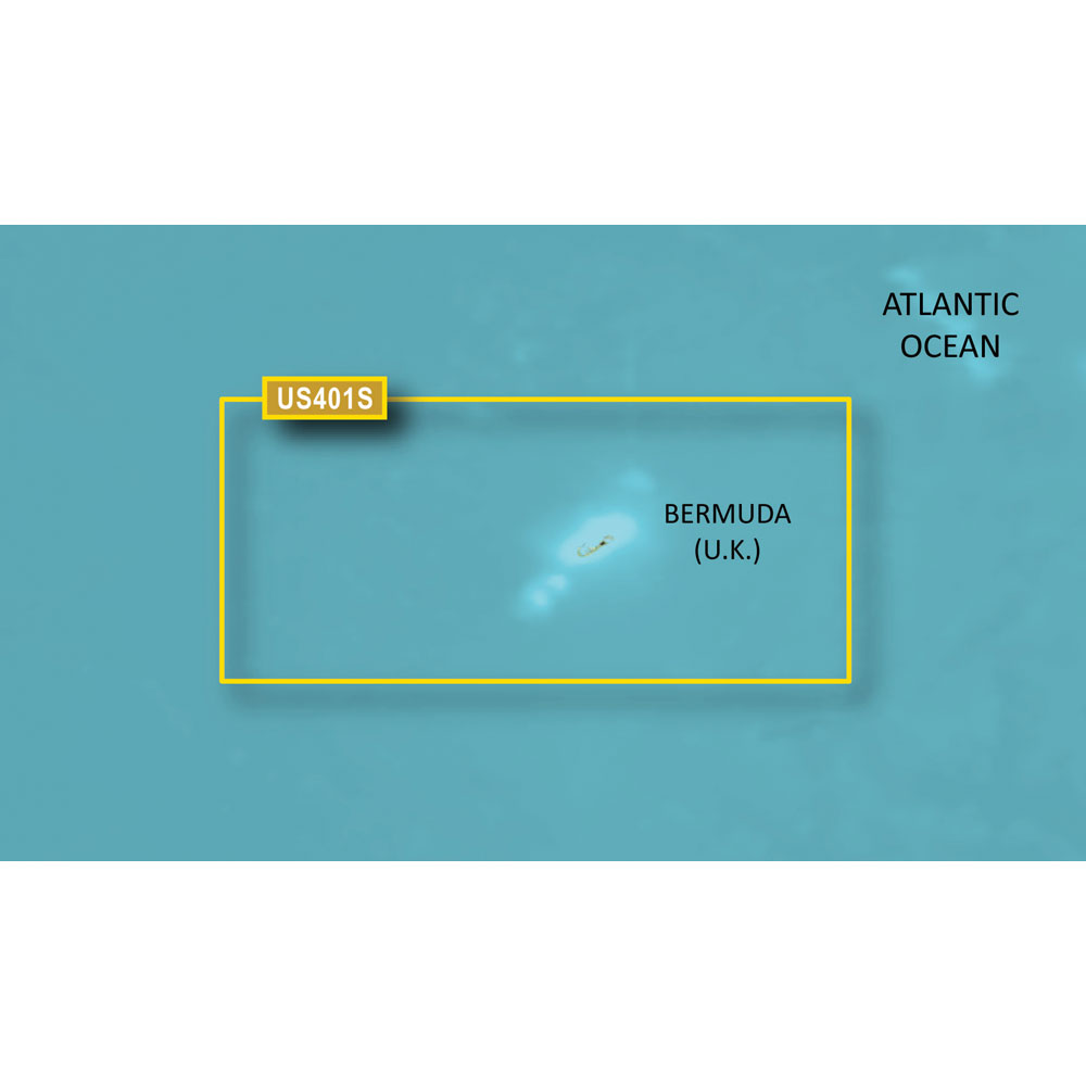 Garmin BlueChart® g3 HD - HUS048R - Bermuda - microSD™/SD™