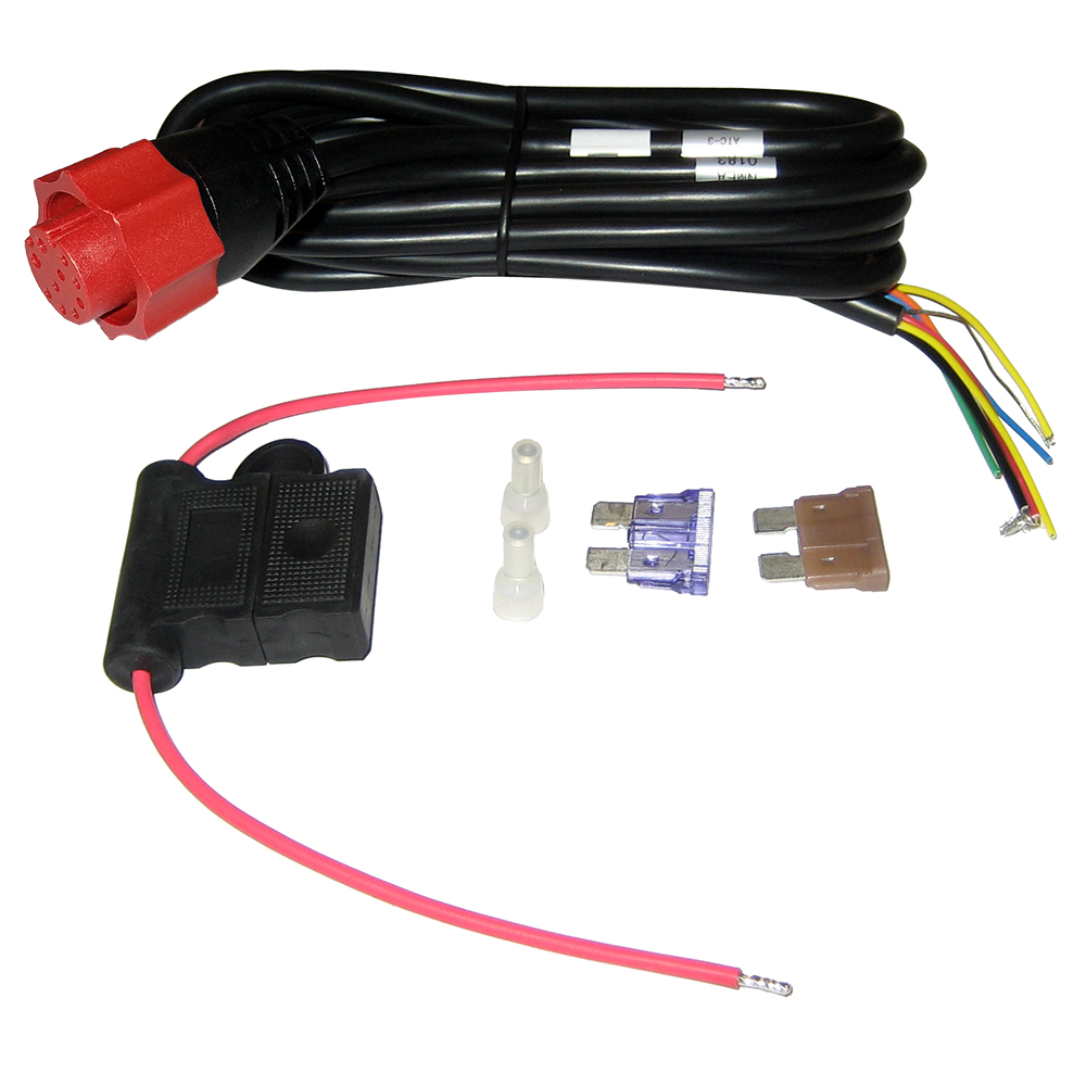 lowrance 127 5  7  u0026 hds  elite hdi power cable