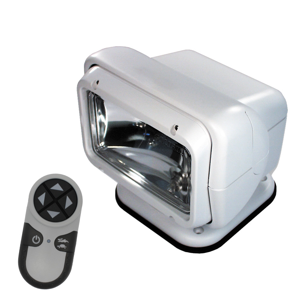 Golight Permanent Mount RadioRay w/Wireless Remote - White