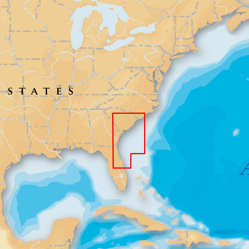 Navionics Platinum+ - South Carolina & North Florida - microSD™/SD™