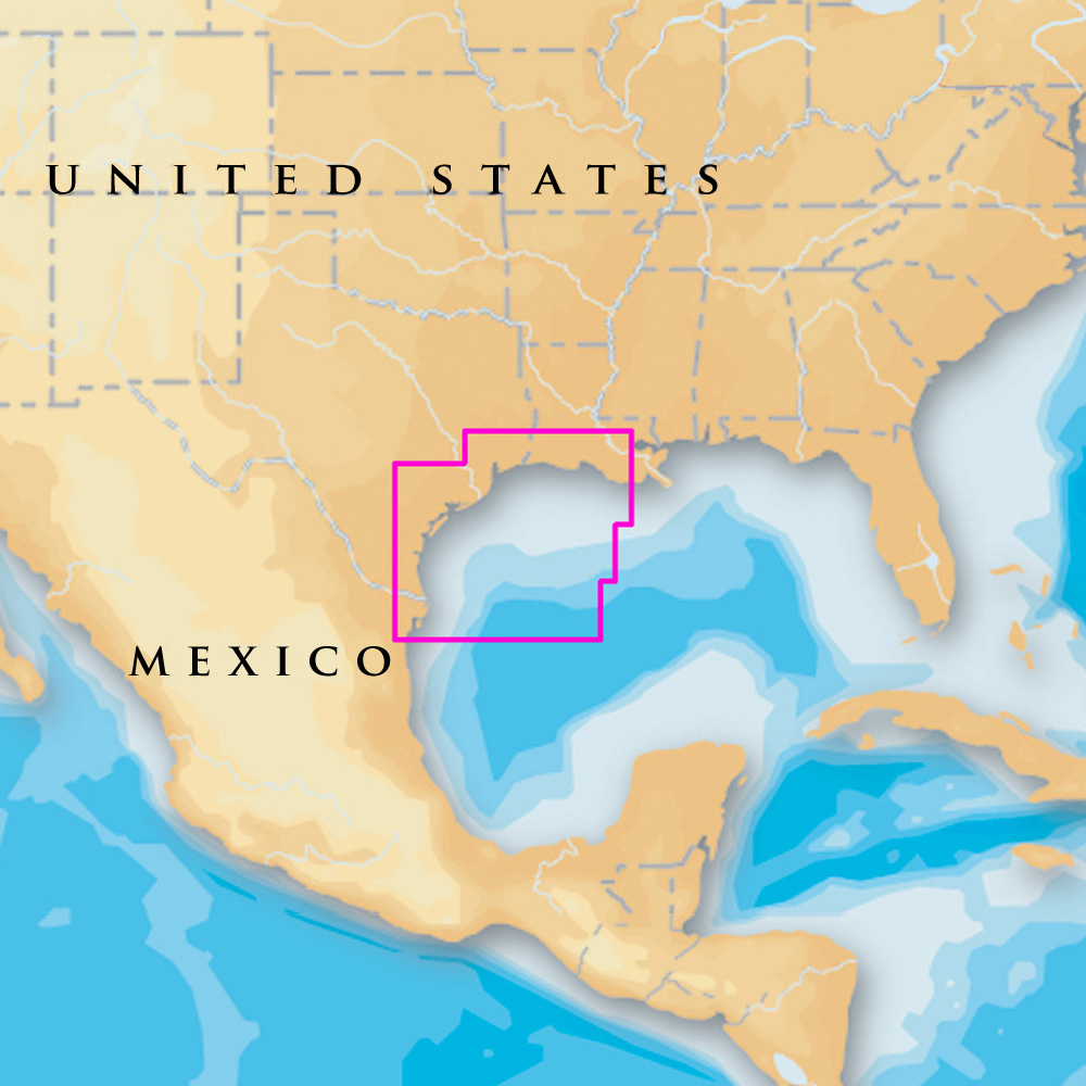 Navionics Platinum+ - West Gulf of Mexico - microSD™/SD™