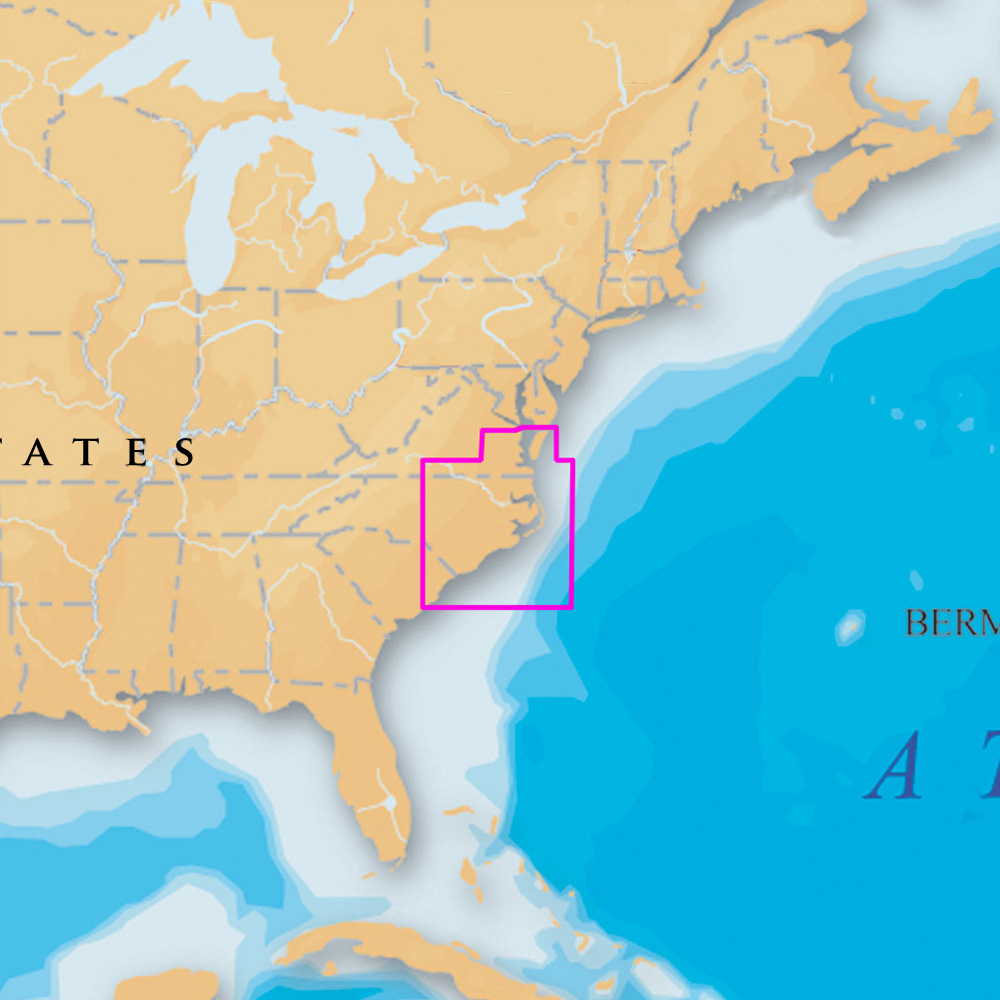 Navionics Platinum+ - North Carolina - microSD™/SD™