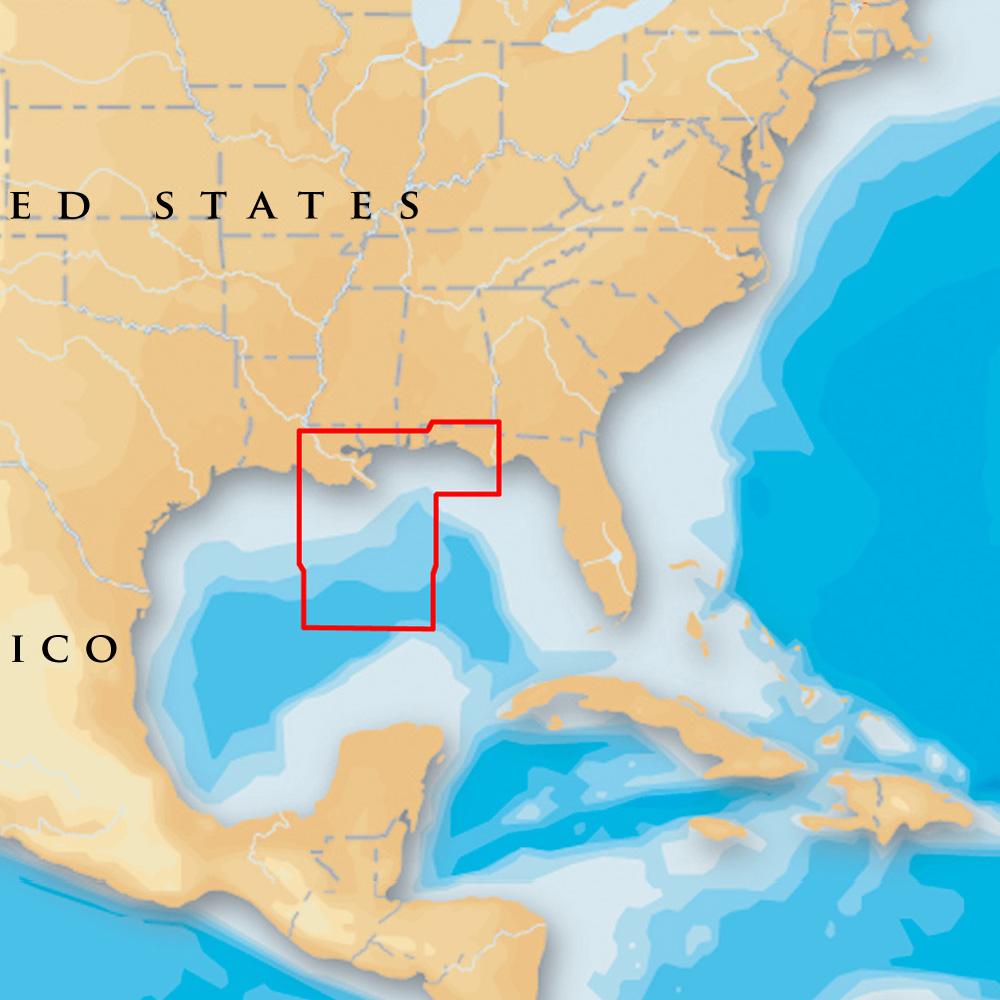 Navionics Platinum+ - Gulf of Mexico Central - microSD™/SD™