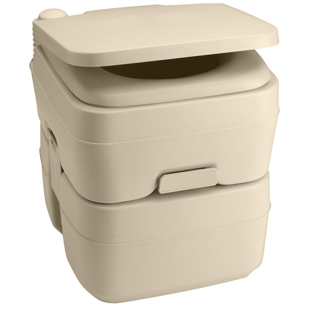 Dometic - 965 Portable Toilet 5.0 Gallon Parchment