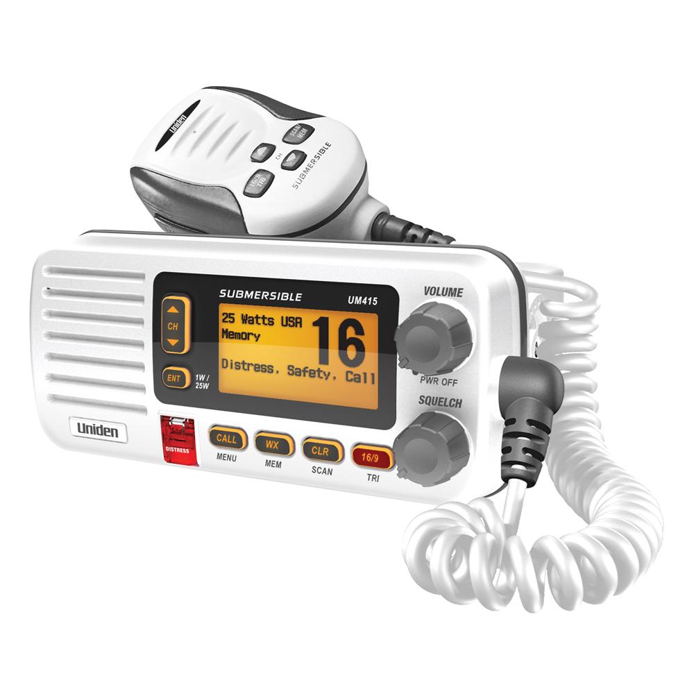 Uniden UM415 White VHF Fixed Radio
