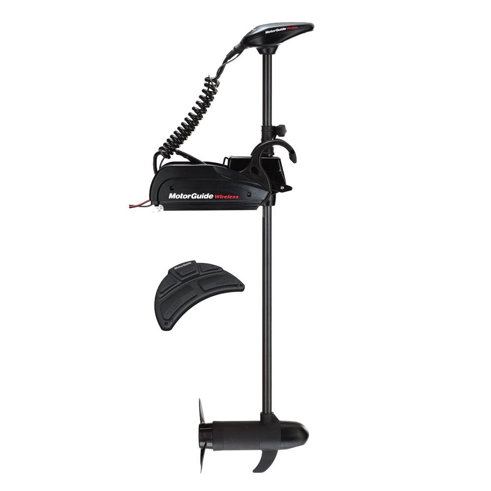 MotorGuide Wireless W75 Freshwater Bow Mount Trolling Motor - Wireless Foot Pedal - 24v-75lb-54
