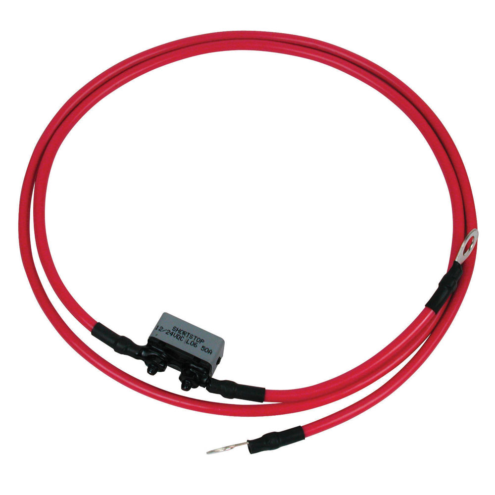 MotorGuide 8 Gauge Battery Cable & Terminals 4' Long