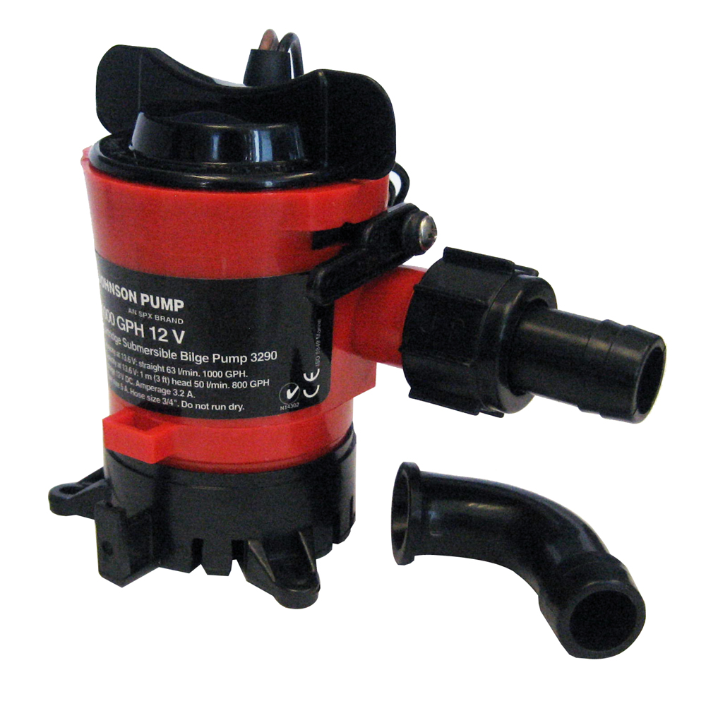 Johnson Pump 500 GPH Bilge Pump 3/4