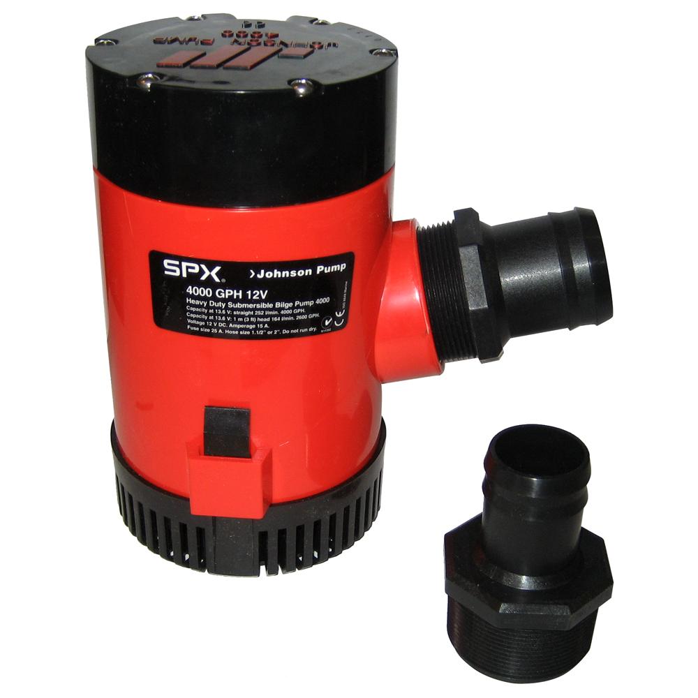 Johnson Pump 4000 GPH Bilge Pump 1-1/2