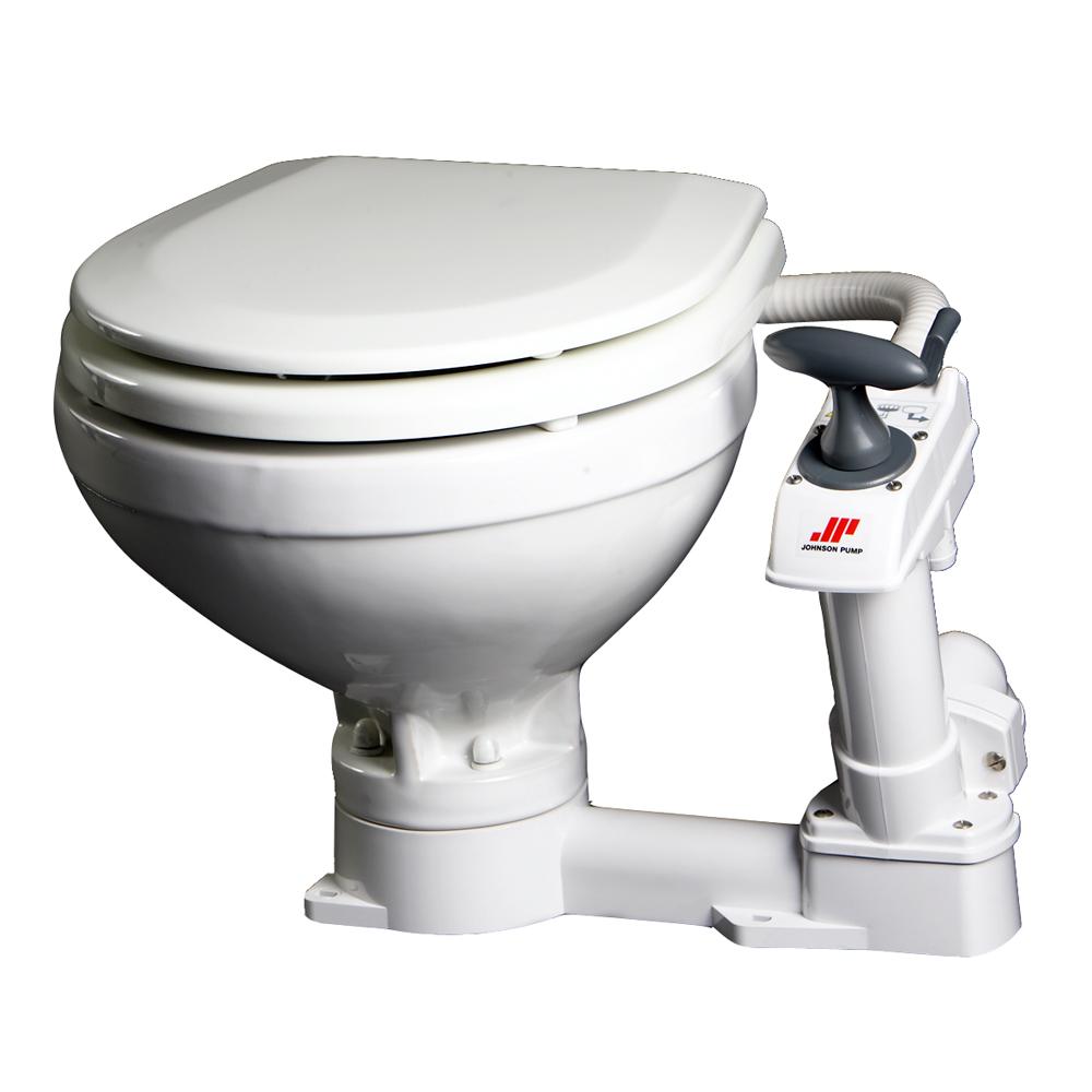 Johnson Pump Compact Manual Toilet