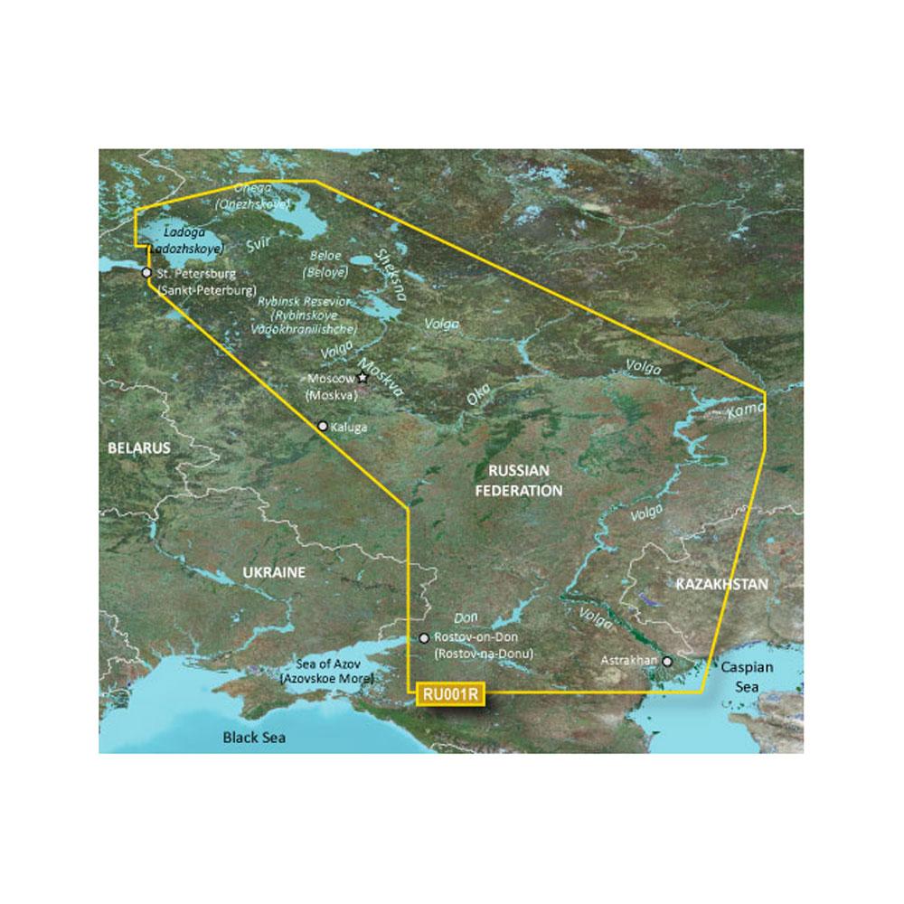 Garmin BlueChart® g3 HD - HXEU062R - Russian Inland Waterways - microSD™/SD™