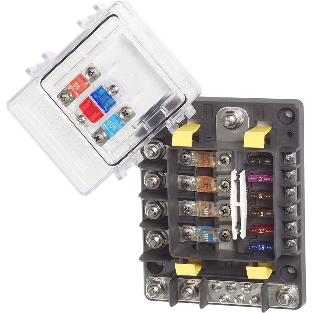 Image is loading Blue-Sea-7748-SafetyHub-150-Fuse-Box