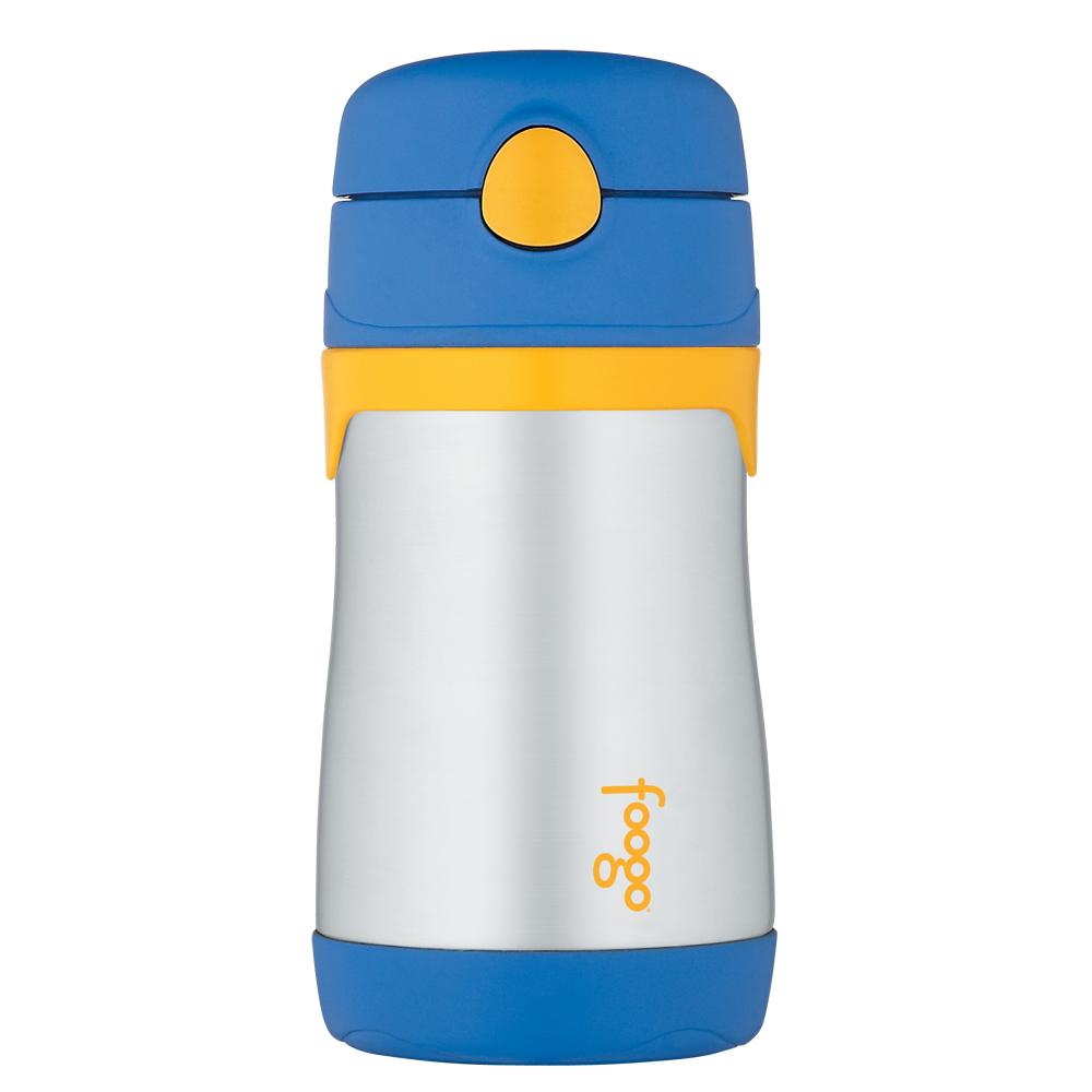 Thermos Foogo Leak-Proof Straw Bottle - Blue